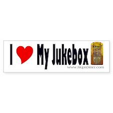 1947 Rockola 1426 Jukebox Bumper Bumper Sticker