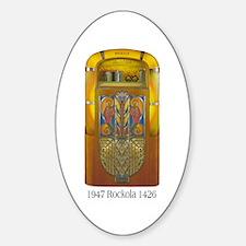 1947 Rockola 1426 Jukebox Oval Decal