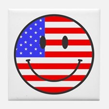 JULY 4TH PEACE Tile Coaster