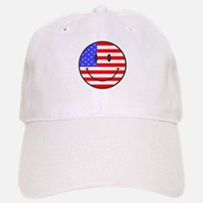 JULY 4TH PEACE Baseball Baseball Cap