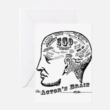 The Actor's Brain s Greeting Cards
