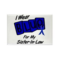 I Wear Blue Sister-In-Law Colon Cancer Rectangle M