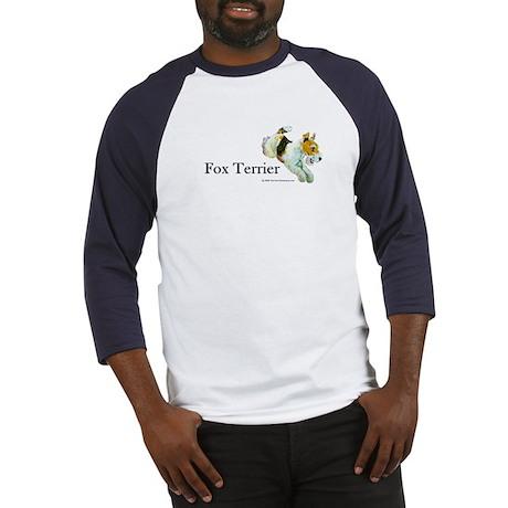Flying Fox Terrier Baseball Jersey