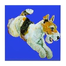 Flying Fox Terrier Tile Coaster