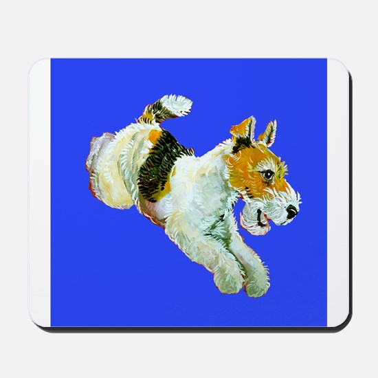 Flying Fox Terrier Mousepad