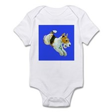 Flying Fox Terrier Infant Bodysuit