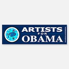 ARTISTS FOR OBAMA Bumper Bumper Bumper Sticker
