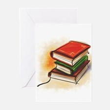 Funny Libraries Greeting Cards (Pk of 20)