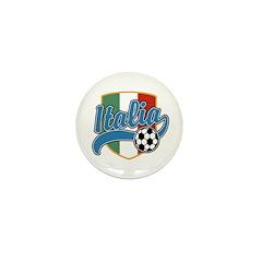 Italia Soccer Mini Button
