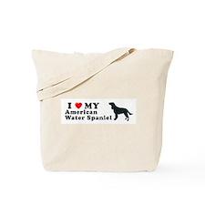AMERICAN WATER SPANIEL Tote Bag