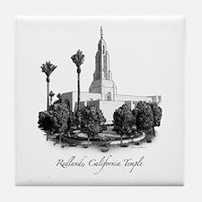 Redlands, California Temple Tile Coaster