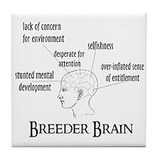 Breeder Brain Tile Coaster