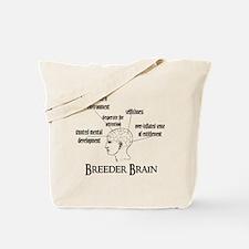 Breeder Brain Tote Bag