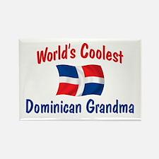 Coolest Dominican Grandma Rectangle Magnet