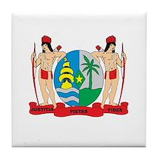 SURINAME Tile Coaster