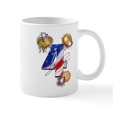 4 July fireworks Mug