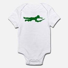 Crawling Toy Soldier Infant Bodysuit