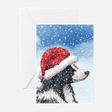 His Holiday Hat in the Snow Greeting Cards (Pk of
