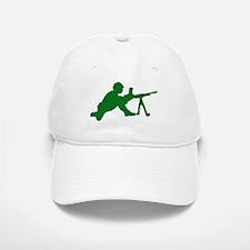 Machine Gunner Toy Soldier Baseball Baseball Cap