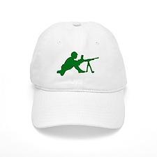 Machine Gunner Toy Soldier Baseball Cap