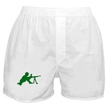 Machine Gunner Toy Soldier Boxer Shorts