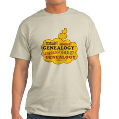 Genealogy Thoughts Light T-Shirt
