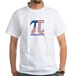 American Pi White T-Shirt