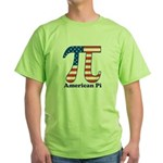 American Pi Green T-Shirt