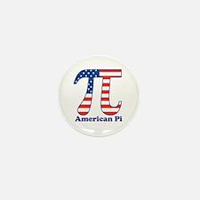 American Pi Mini Button (10 pack)