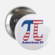 """American Pi 2.25"""" Button (10 pack)"""