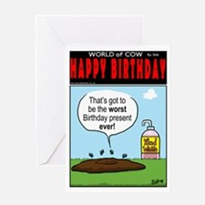 Worst Present!Greeting Card