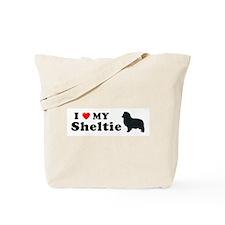 SHELTIE PUP Tote Bag