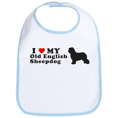 OLD ENGLISH SHEEPDOG Bib