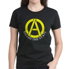 Smash the State with Anarcho-Capitalist Symbol Wom