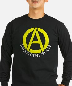 Smash the State with Anarcho-Capitalist Symbol Lon