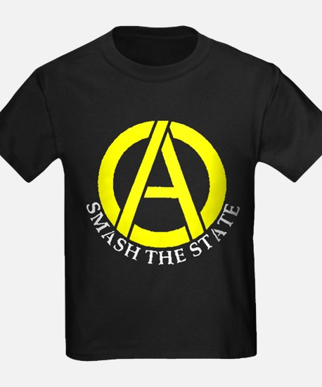 Smash the State with Anarcho-Capitalist Symbol Kid