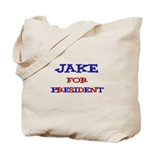 Jake for President Tote Bag