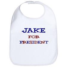 Jake for President Bib