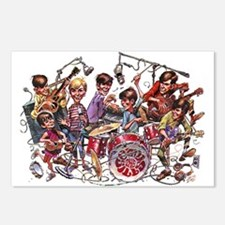 Cowsill 1960s Cartoon Postcards (Package of 8)