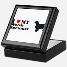 WELSH SPRINGER Tile Box