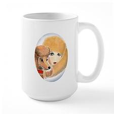 Vivian and Peaches Ceramic Mugs
