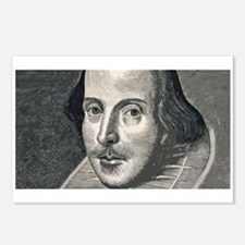 Wm Shakespeare Postcards (Package of 8)