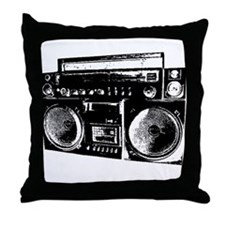 BoomBox 2 Throw Pillow