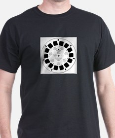 Viewfinder disk Black T-Shirt