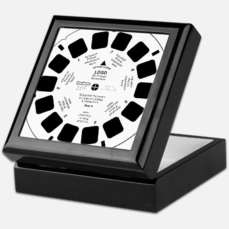 Viewfinder disk Keepsake Box