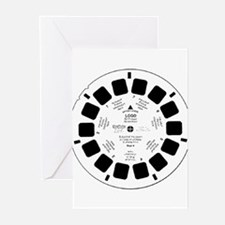 Viewfinder disk Greeting Cards (Pk of 10)