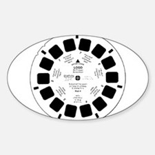 Viewfinder disk Oval Decal