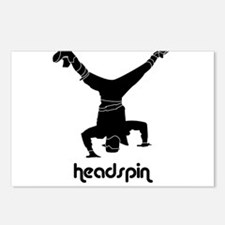 Headspin Postcards (Package of 8)