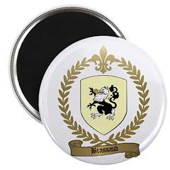 BRASSAUD Family Crest Magnet