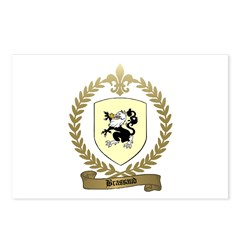 BRASSAUD Family Crest Postcards (Package of 8)